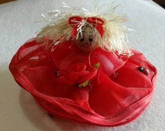 Graduation baby shower favors dolls doll 5 set pink