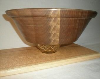 Wooden Salad  Bowl #6 free shipping