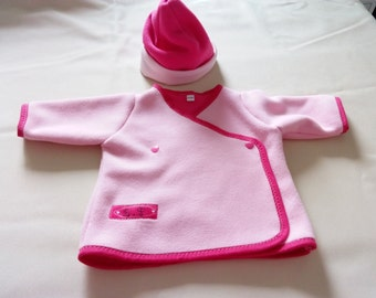 All fleece pink girl