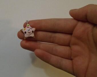 Miniature Sugar Cookie Charm with Sprinkles