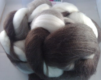 BFL Bluefaced Leicester mix 300 g combed tops spinning fiber lining