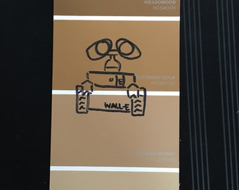Walle paint chip