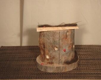 Rustic Lady Bug Hut