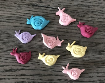 Hand-Made Lucky Snails - Whimsy Snails