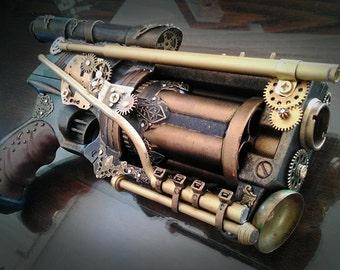 Steampunk Revolver typeA