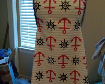 Kitchen Apron with Anchors