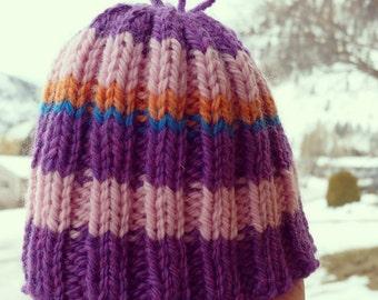 Newborn Wooly Knit Baby Hat