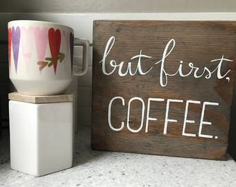 But first, COFFEE. Sign