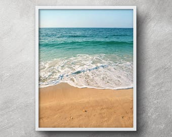 Beach photography, Beach print, Beach Printable, Beach art, Ocean print, Tropical print, Beach wall art, Beach artwork, Nautical decor