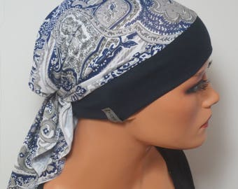 Head scarf Hat/CHEMO Hat/TURBAN high comfort during chemotherapy hair loss cancer alopecia boating convertible driving turban