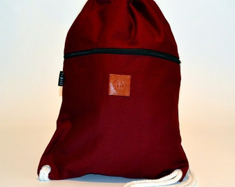 Smooth Back pack Red