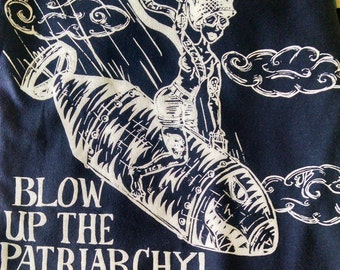 Blow Up the Patriarchy! T-Shirt (proceeds support Planned Parenthood)