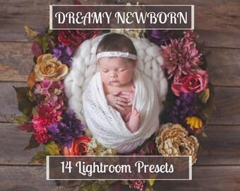 Dreamy Baby Adobe Lightroom Newborn Presets