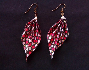 origami #12 earrings