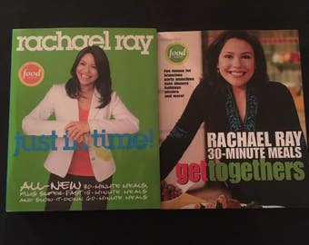 COOK BOOKS RACHAEL Ray 30 minute meals 2 books