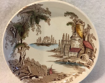 Johnson Brothers Castle by Water Mill Mini Decorative Plate (#011)