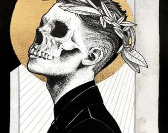 Death  Giclée  A4