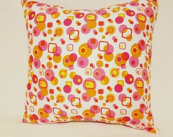 19 x 19 Retro Color Envelope Back Pillows