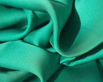 Silky Smooth Jade Green Fabric
