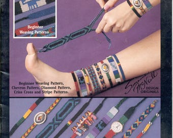 Indian Style Friendship Bracelets -Pattern Book
