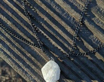 Geode & Chain Collar Choker