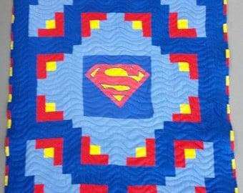 Superhero Baby Quilt