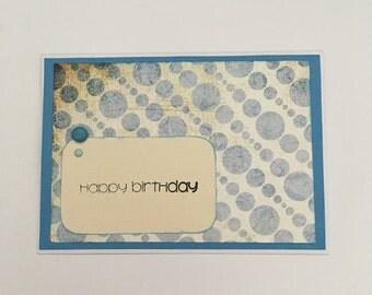 Handmade Card - Happy Birthday (HB13)