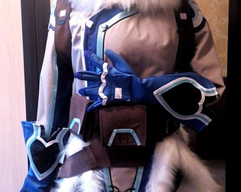 Mei Overwatch Blizzard Game Cosplay costume made to order!