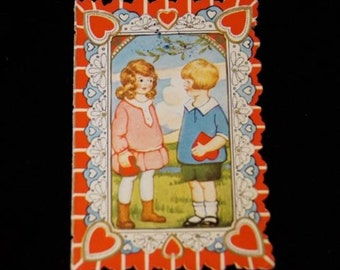 Antique 1931 Valentine Greeting Card