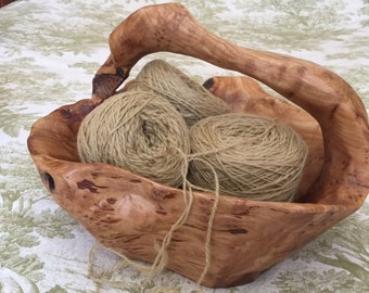 "Hand Spun Merino, ""Camel"" color, 125 Yards. Free Shipping!"