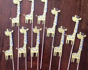 Giraffe Centre Piece Pick, middle of floral centre pieces