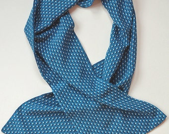 The Blue Orb Mens Rayon Challis Scarf