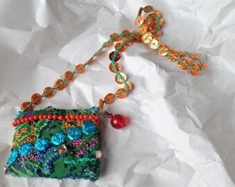 Amulet necklace charm