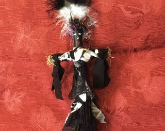 Lovely Voodoo Doll Authentic Handmade Lao Voodoo Collection Peace Security