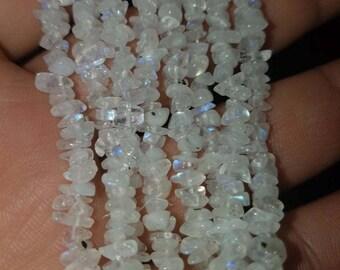 Moonstone Irregular Beads