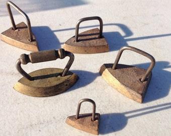 Miniature Copper Irons