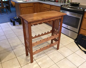 Mortise and Tenon Vintner's Table