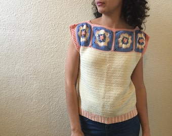 Mission District Short Sleeved Sweater