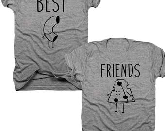 2-Pack Mac and Cheese Best Friends t-shirt set  (B061)