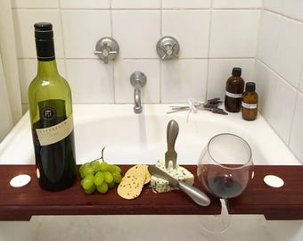 Luxury Wine and Cheese Bath Board