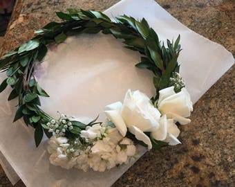 Bridal Flower Crown - **LA and surrounding areas only**