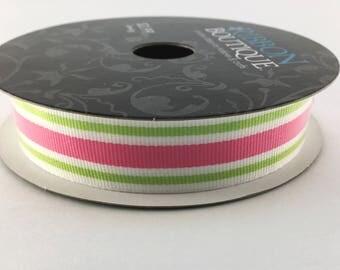 New Ribbon, Sewing Supplies, Crafting Supplies, Spring Ribbon, Ribbon