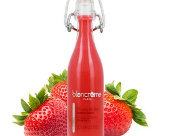 Strawberry Bubble Bath Limo 50ml / 1.6oz in Glass Limo Bottle