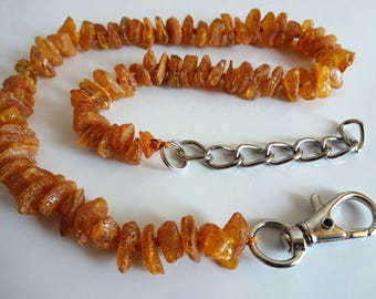 Natural Raw Baltic Amber Collar For Dog and Cats 7.9-19.7 inches.  A naturally occurring flea repellant!