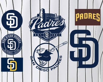 San Diego Padres Baseball SVG, San Diego Padres, Padres SVG, Baseball Clipart, San Diego Padres
