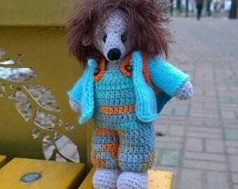 Hedgehog Hedgehogplush Hedgehogdoll Babysofttoy crochettoy