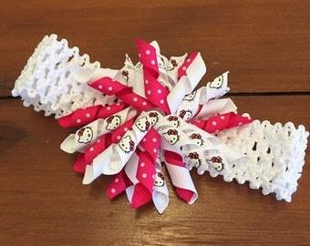 Hello Kitty Korker Ribbon Headband