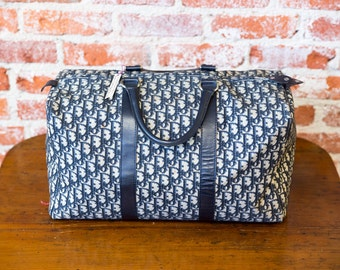 Christian Dior Duffle Bag 1980's