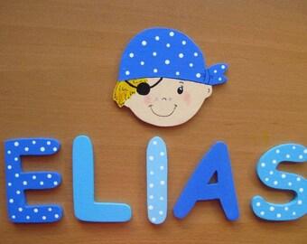 """Letter wood """"Scene ELIAS"""""""