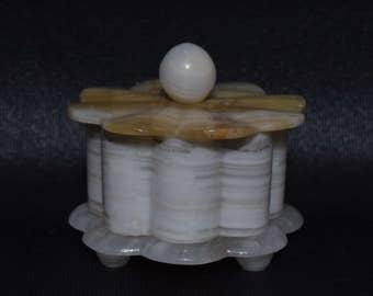 Beautiful Abalone/Shell Trinket Box